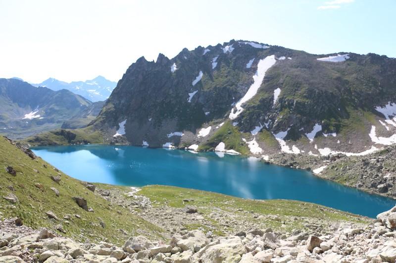 Озеро Уллу-Кель - верховья реки Кубань