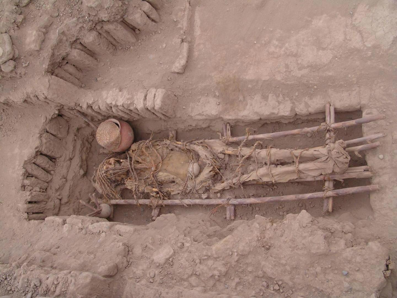 Коренные американцы - останки захоронения культуры Лима