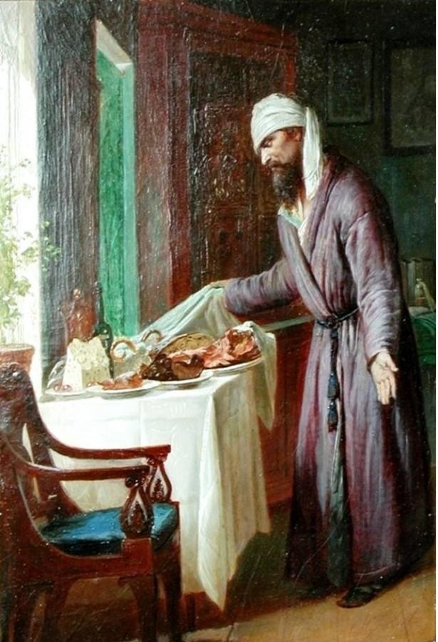 Журавлев Ф. С. Пасхальное угощение (до 1901 г.)