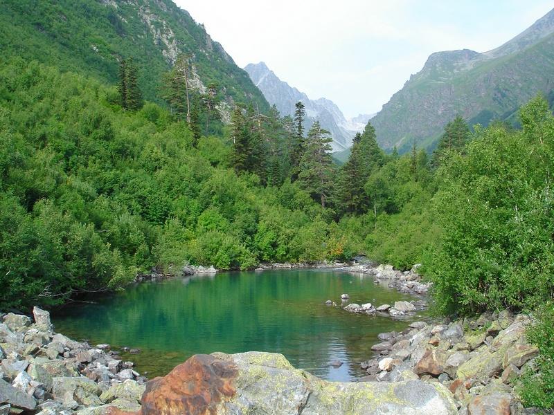 Первое Нижнее Бадукское озеро.