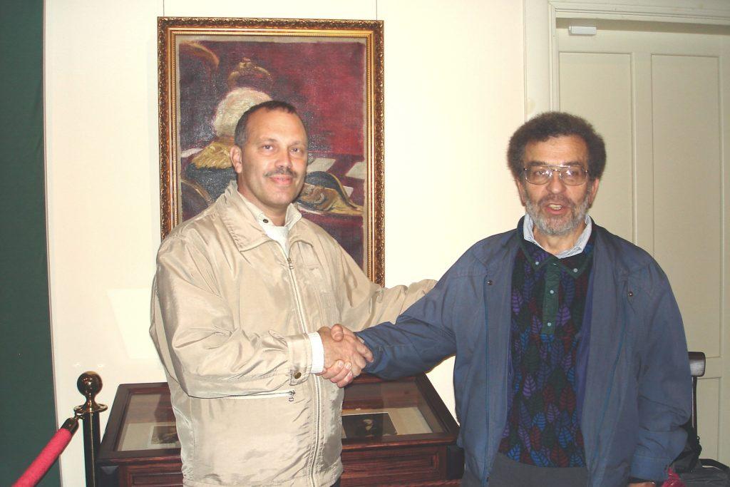 А. В. Семёнов-Тян-Шанский и А. В. Белоусов