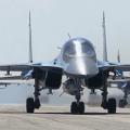 Российский фронтовой бомбардировщик Су-24