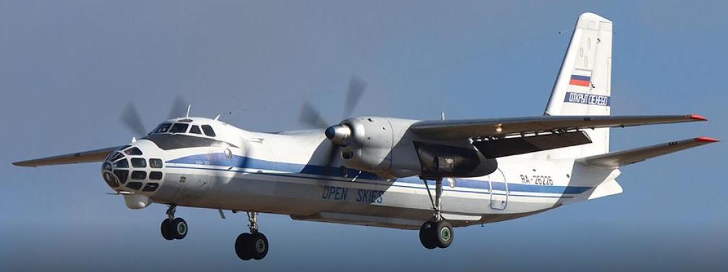 Американский самолет авиационного наблюдения OC-135B «Открытое небо»