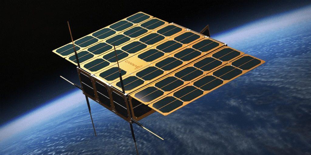Спутник компании Cannae из шести юнитов CubeSat