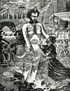 Изображение Тувал-Каина. гравюра 19 века.