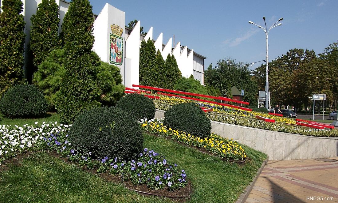 Цветочные часы в Краснодаре_9