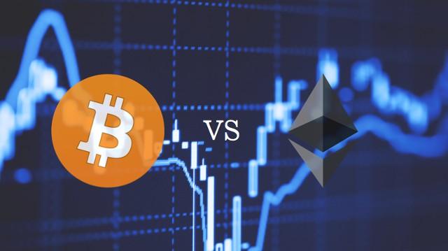 биткоин vs эфириум