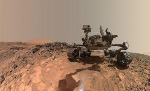ровер на Марсе