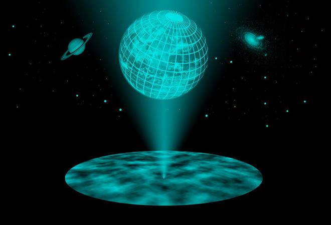 вселенная - голограмма
