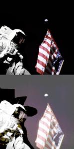на Луну - фотошоп