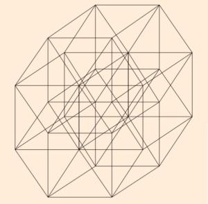 6. Пентеракт — пятимерное пространство (5D)