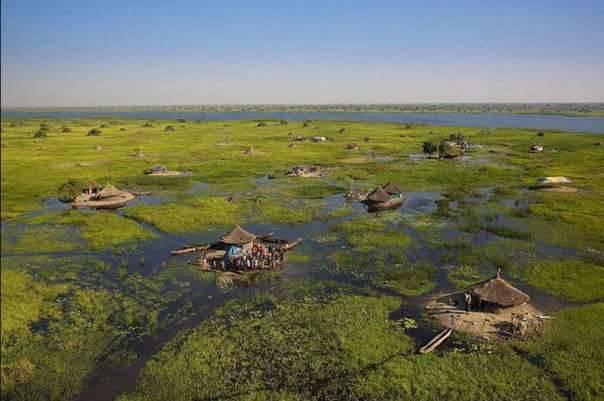 вода - проект осушения болот Судд в Южном Судане 1