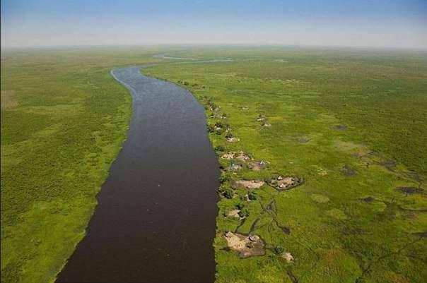 вода - проект осушения болот Судд в Южном Судане 2