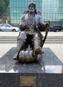 Скульптура «Дон батюшка» В Ростове-на-Дону