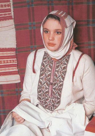 Традиционный образ татарки-мишари