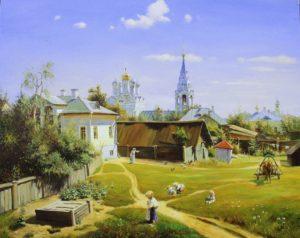 Поленов Московсий дворик 1878