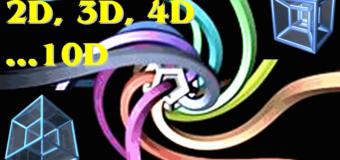 Многомерные пространства — 3D, 4D и другие измерения