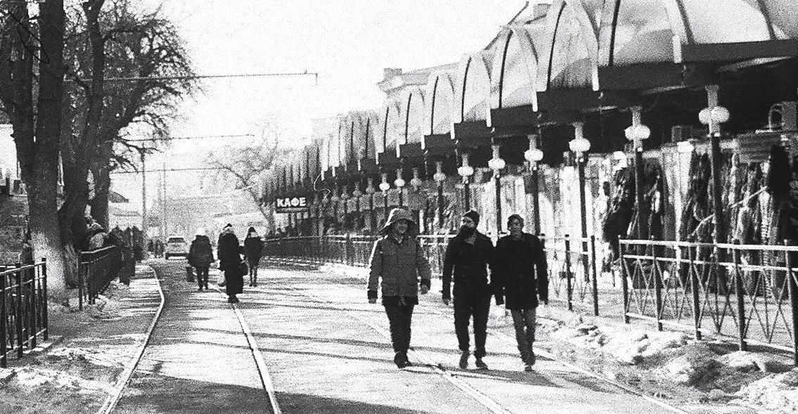 Улица Станиславского.