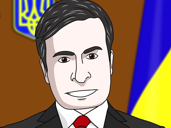 Мультфильм о назначении Саакашвили