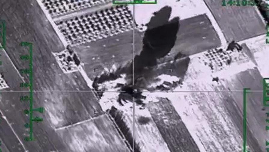 Авиаудар ВКС в Сирии