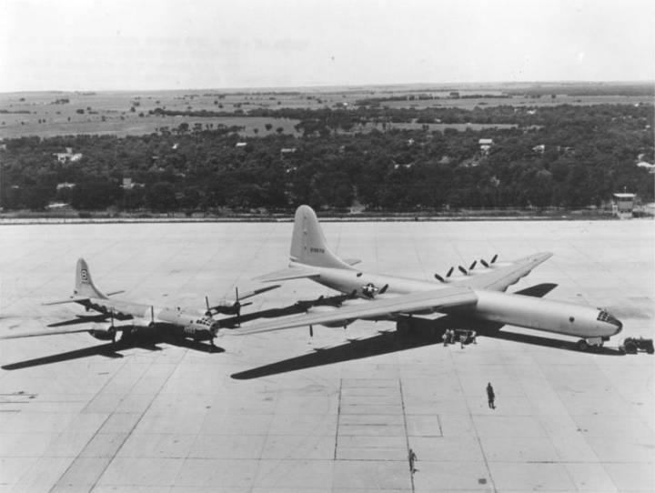 """B-36 """"Peacemaker"""" - Несостоявшееся ядерное нападение на СССР"""