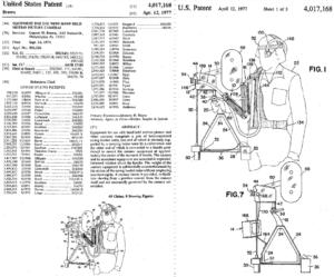 Steadicam-страницы из патента Гаррета Брауна