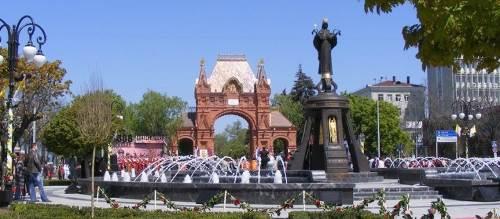 Свято-Екатерининский фонтан 2