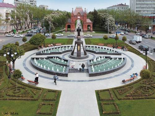 Свято-Екатерининский фонтан 3